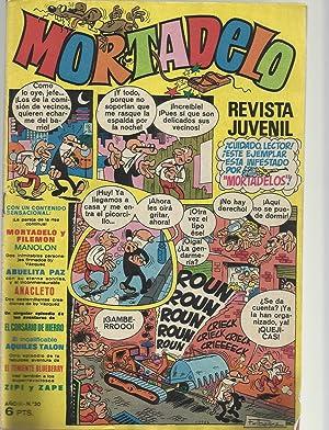 Mortadelo.Revista juvenil. Año II. Nº 30: F. Ibañez