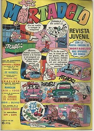Mortadelo. Revista juvenil. Año II Nº 50: F. Ibañez