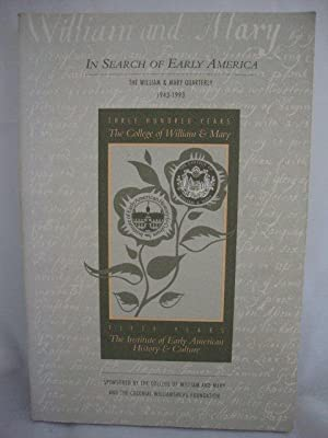 In Search of Early America (The William: Miller, Perry