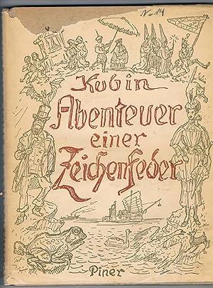 Abenteuer einer Zeichenfeder. Mit Einführung von Max Unold.: Kubin, Alfred