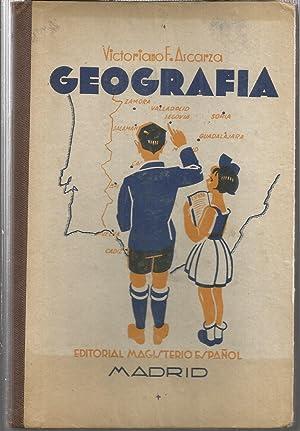 NOCIONES DE GEOGRAFIA -Curso Completo de Primera: ASCARZA, Victoriano- SOLANA,