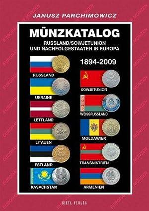 Münzkatalog Russland / Sowjetunion und Nachfolgestaaten in: Janusz, Parchimowicz: