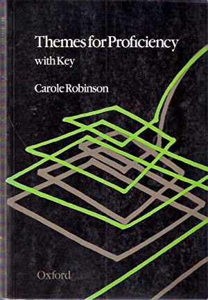 Themes for Proficiency with key: Robinson, Carole