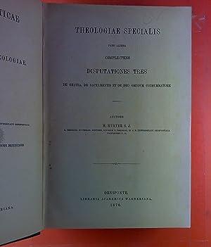 Compendium Theol. Dogmaticae. In Usum Studiosorum Theologiae. Tomus III.: H. Hurter S. J.