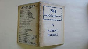 Seller image for 1914 & Other Poems. for sale by Goldstone Rare Books