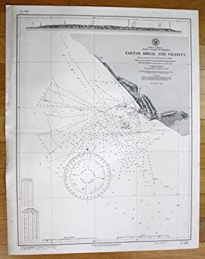 North America - West Coast of Mexico - Tartar Shoal and Vicinity: U.S. Navy Hydrographic Office: