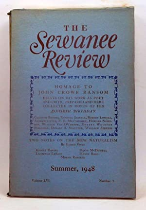 The Sewanee Review, Volume 56, Number 3: Palmer, J. E.