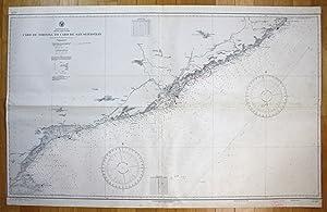 Mediterranean Sea - Spain - East Coast - Cabo de Tortosa to Cabo de San Sebastian: U.S. Navy ...