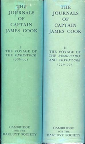 THE JOURNALS OF CAPTAIN JAMES COOK ON: Cook, Captain James.