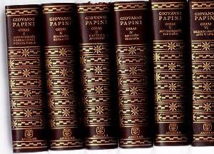 Obras. 6 volúmenes. I. Autobiografía, narraciones, poesía: Papini, Giovanni