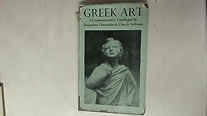 GREEK ART.: Chittenden, Jacqueline &