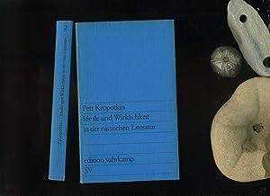 Ideale und Wirklichkeit in der russischen Literatur.: Peter Kropotkin:
