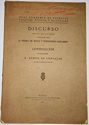 Vindicación de la Geología. Discurso leído en: NOVO Y FERNÁNDEZ-CHICARRO,