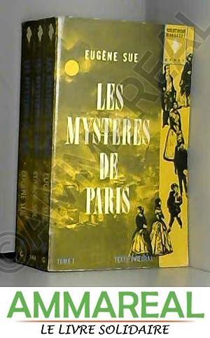 Les mysteres de paris - tome i: SUE EUGENE