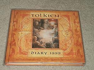 Bild des Verkäufers für THE TOLKIEN DIARY 1999 FIRST EDITION HARDCOVER ILLUSTRATED & SIGNED BY ALAN LEE W/ EVENT FLYER zum Verkauf von Books for Collectors