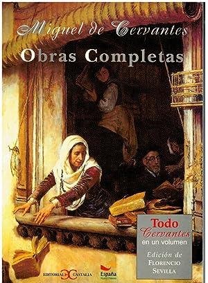 OBRAS COMPLETAS. LA GALATEA / DON QUIJOTE: De Cervantes, Miguel.