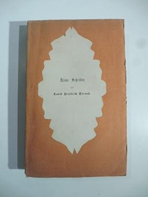 Kleine schriften. Biographischen, literar und kunstgeschichtlichen inhalts: David Friedrich Strauss