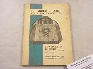 Der sechste Tätigkeits-Bericht umfaßt die Zeit vom 1. Januar 1928 bis 31. Dezember 1929. Erstattet ...