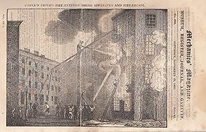 Captain Smith's Fire-Extinguishing Apparatus And Fire-Escape; Braithwaite's