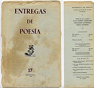 Entregas de Poesía. Al cuidado de Juan: VV.AA.