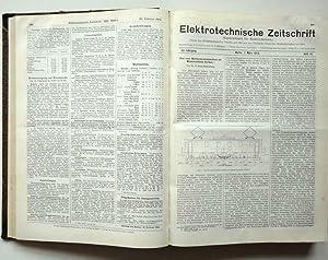 Elektrotechnische Zeitschrift (Centralblatt für Elektrotechnik). Organ des Elektrotechnischen ...
