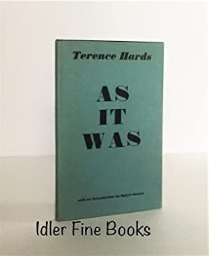 As it Was: Hards, Terence; Robert