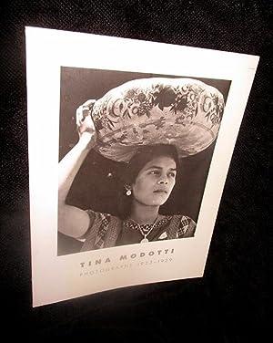 Tina Modotti: Photographs 1923 - 1929: Lowe, Sarah M.