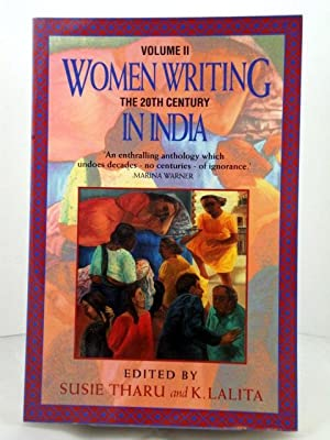 Women Writing in India: 600 B.C. to: Tharu, Susie; Lalita,