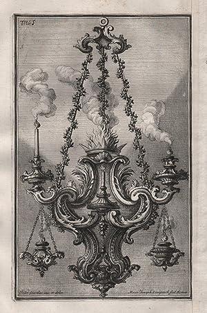 Kronleuchter candles Kerzenhalter chandelier Leuchter silver silversmith design baroque: Giardini, ...