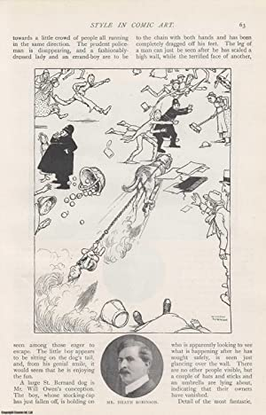 Style in Comic Art. An original article from The Strand Magazine, 1909.