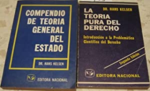 Compendio de teoría general del Estado [CON: HANS KELSEN