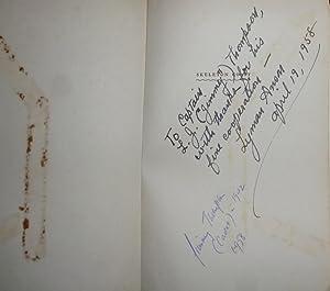 Skeleton Coast. New York, 1958. Inscribed and: Marsh, John H