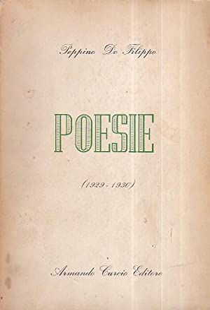 Poesie (1929 - 1930): De Filippo Peppino