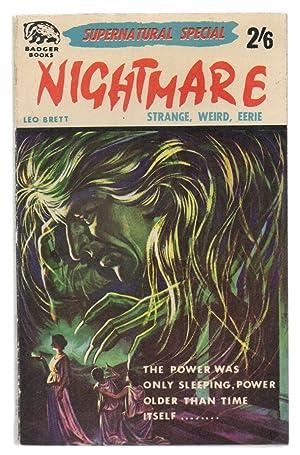 Nightmare (Supernatural Special 54) PBO: R. Lionel Fanthorpe