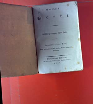 Goethes Werke. Dreyunddreyßigster Band. Resensionen in die Frankfurter gelehrten Anzeigen; etc.: ...
