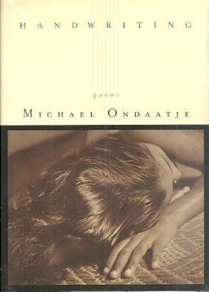 Handwriting: Michael Ondaatje