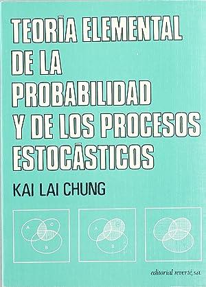 Teoría elemental de la Probabilidad y de: Chung, K. L.