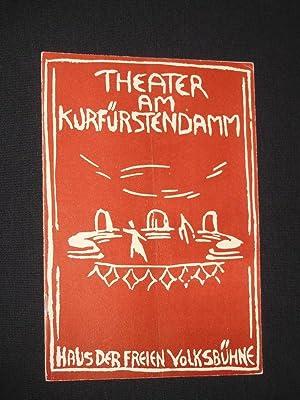 Programmheft Theater am Kurfürstendamm 1956/57. PHILOTAS von: Herausgegeben von der