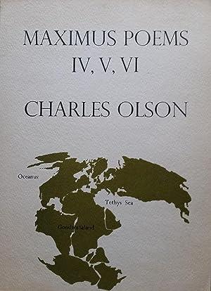 Imagen del vendedor de Maximus Poems IV, V, VI a la venta por Casa Camino Real