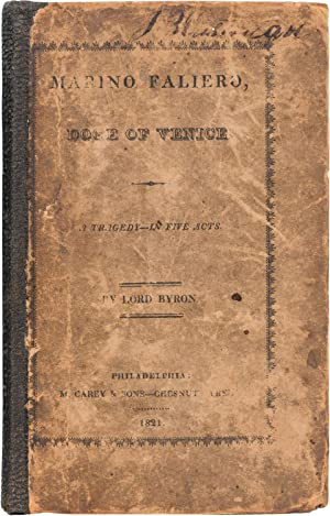 Marino Faleiro: Byron, George Gordon [Lord]