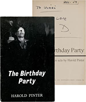 The Birthday Party: Pinter, Harold