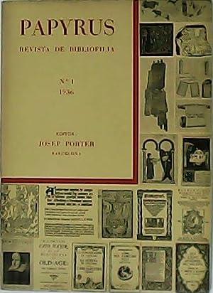 PAPYRUS. Revista de Bibliofilia. Número 1.