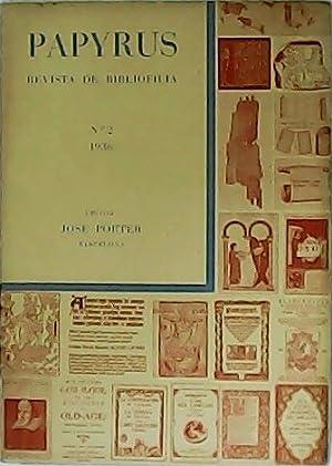 PAPYRUS. Revista de bibliofilia. Número 2.