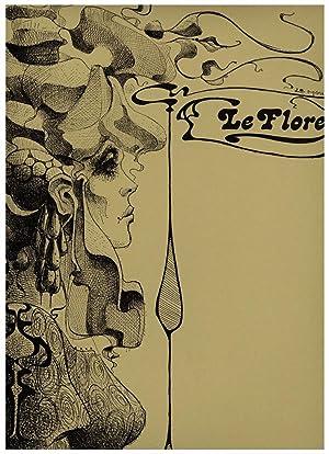 Dessin original Le Flore Femme symbolisme Mode: LE MOULT Christian