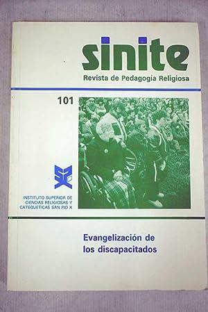 Sinite: Revista de Pedagogía Religiosa, Número 101,