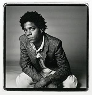 Vintage Silver Gelatin Photograph of Jean-Michel Basquiat: BASQUIAT, JEAN-MICHEL; CORMAN,