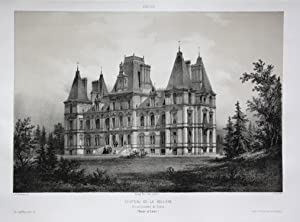 Chateau de la Belliere / Arrond. Cholet / Maine et Loire / Anjou: Wismes, Olivier de (1814-1887):