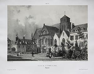 Eglise de la Trinite a Laval / Mayenne / Maine: Wismes, Olivier de (1814-1887):