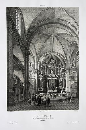 Chapelle St. Louis / Au Prytanee militaire de la Fleche / Sarthe / Anjou: Wismes, Olivier de (1814-...
