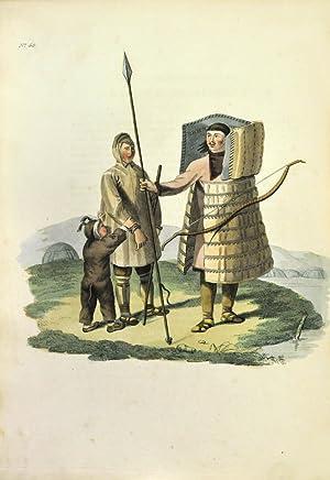 Costume of the Russian Empire. Costume de: HARDING, E[dward], publisher.